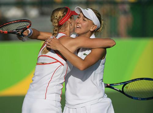 Русские теннисистки Веснина иМакарова готовы навсе ради золотой медали
