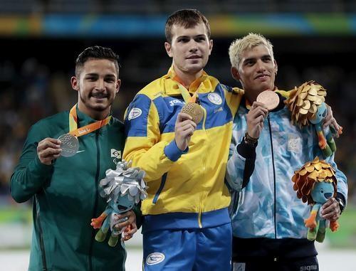 НаПаралимпиаде-2016 пловец завоевал 33-е «золото» для государства Украины